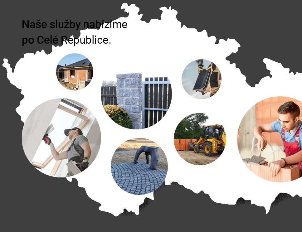 Nabízíme služby po celé České Republice